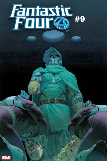 Cover of Marvel's Fantastic Four #9 with art by Esad Ribic