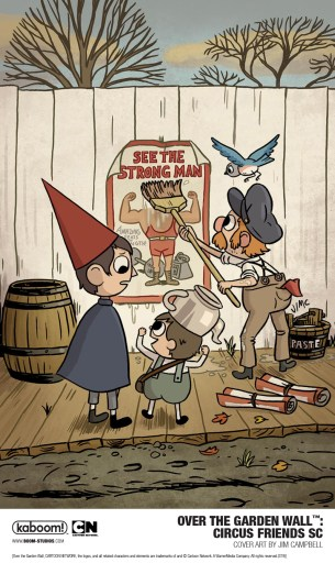 Cover of BOOM! Studios Over the Garden Wall