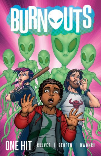 Cover of Image Comics BURNOUTS trade paperback