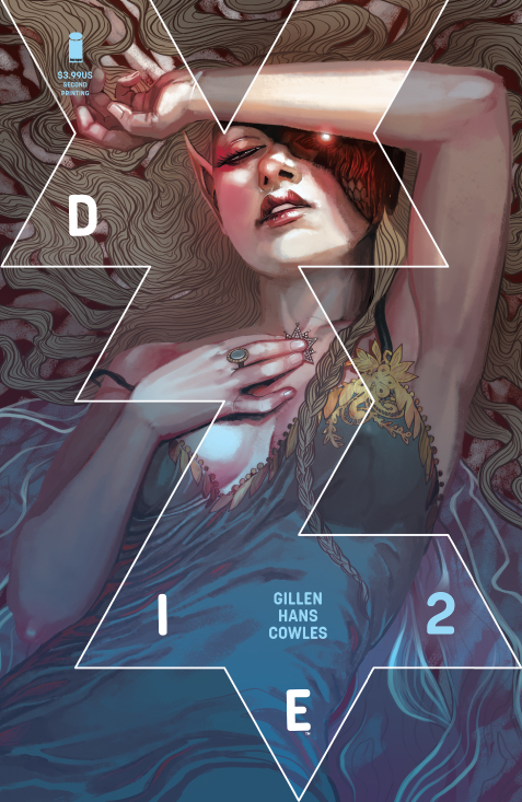 Cover of Image Comics DIE #2