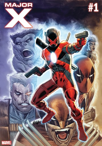 Cover of Marvel's Major X by Rob Liefeld