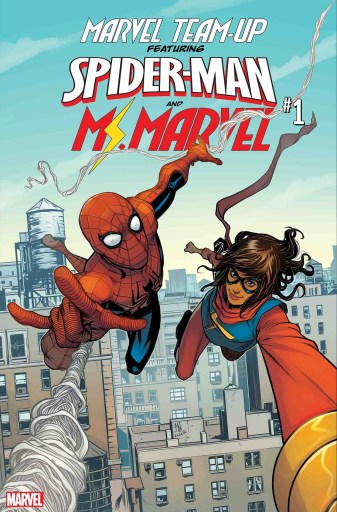 Main Cover of Marvel Team-Up #1, art by Stefano Caselli