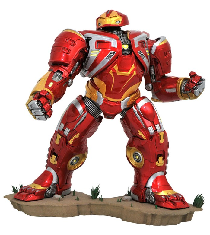 Marvel Movie Gallery Hulkbuster MK2 PVC Diorama