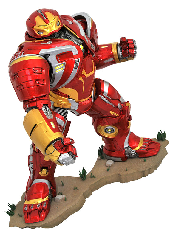 Image - DST Marvel Movie Gallery Hulkbuster MK2 PVC Diorama