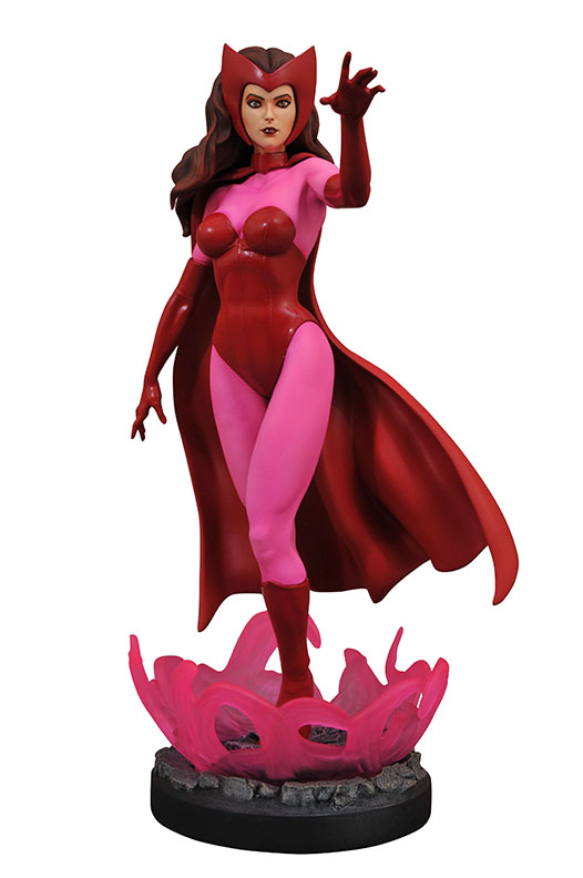 Diamond Select Toys Marvel Comic Premier Collection Scarlet Witch Resin Statue