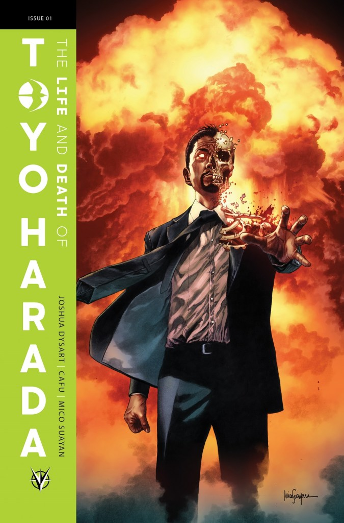 Valiant Entertainment THE LIFE AND DEATH OF TOYO HARADA cover art by Mico Suayan