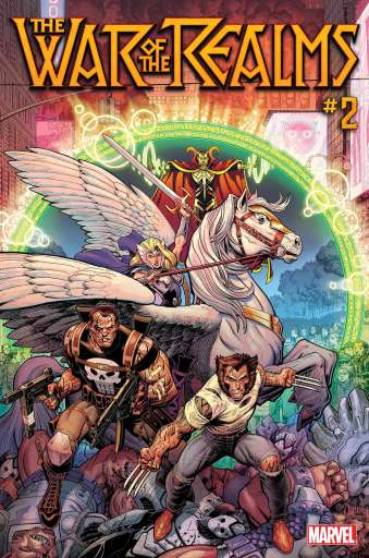 Cover art of Marvel's War of the Realms #2 from Arthur Adams and Matthew Wilson