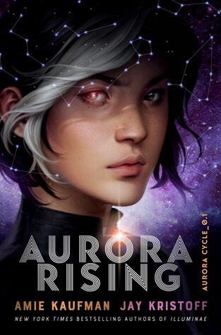 Aurora Rising novel cover art