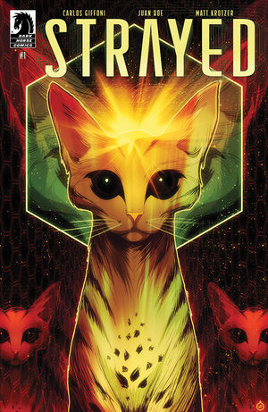Main cover of Strayed #1