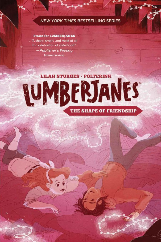 Cover of Lumberjanes: The Shape Of Friendship graphic novel
