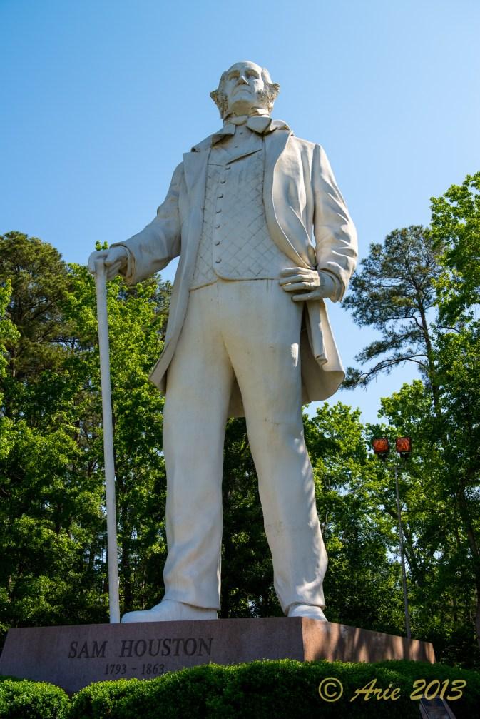 Big Sam Houston Statue