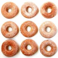 Hmmmm, rosquinhas ... - donuts assados com açúcar e canela