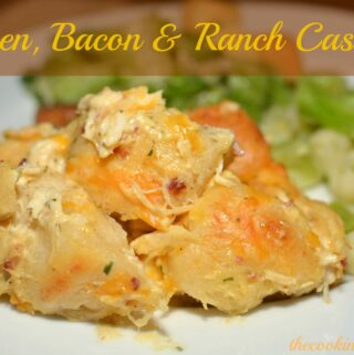 Chicken, Bacon & Ranch Casserole