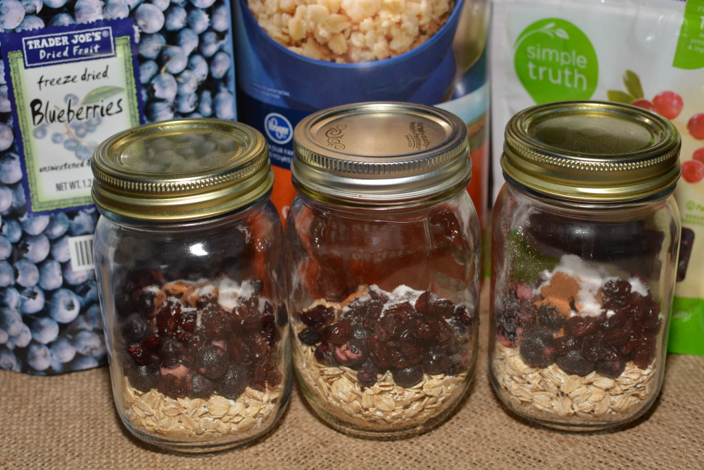 Instant Oatmeal Jars