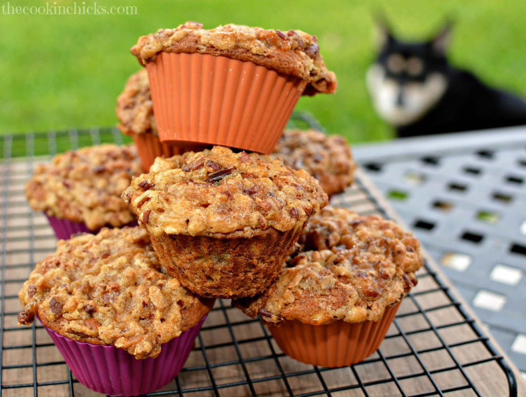 Notice my dog?? See....even HE wants a muffin!!