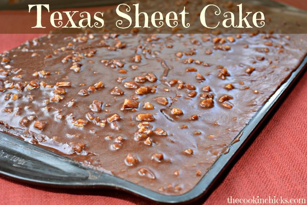 Texas Sheet Cake