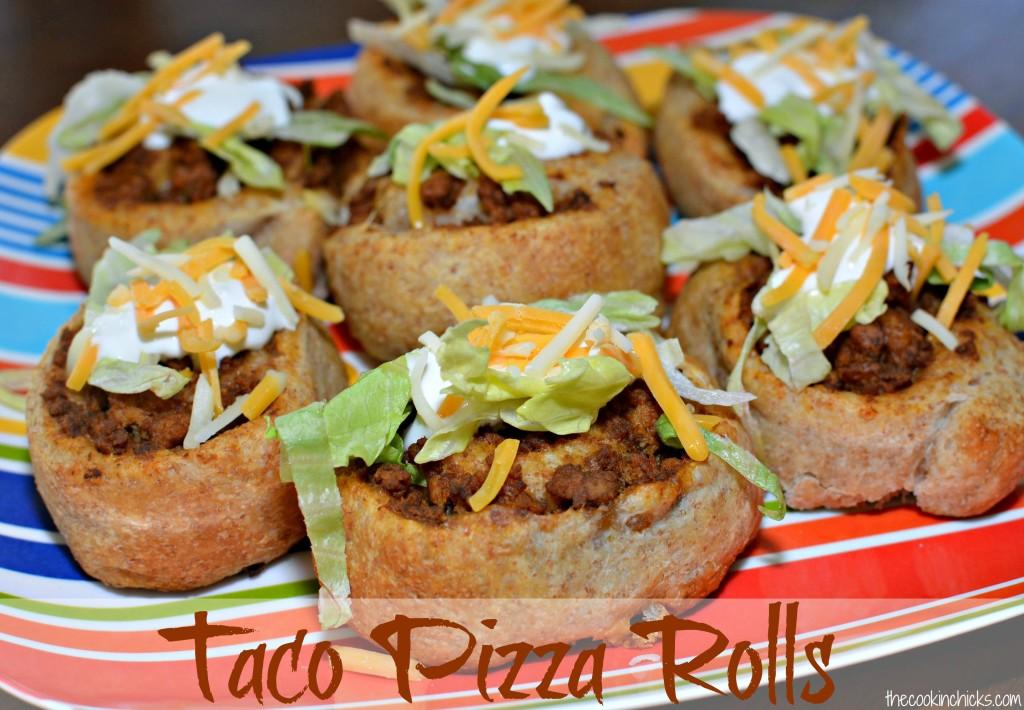 Taco Pizza Rolls