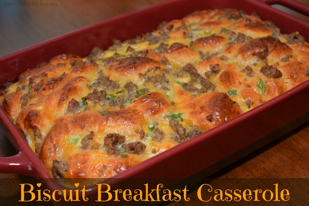Biscuit Breakfast Casserole