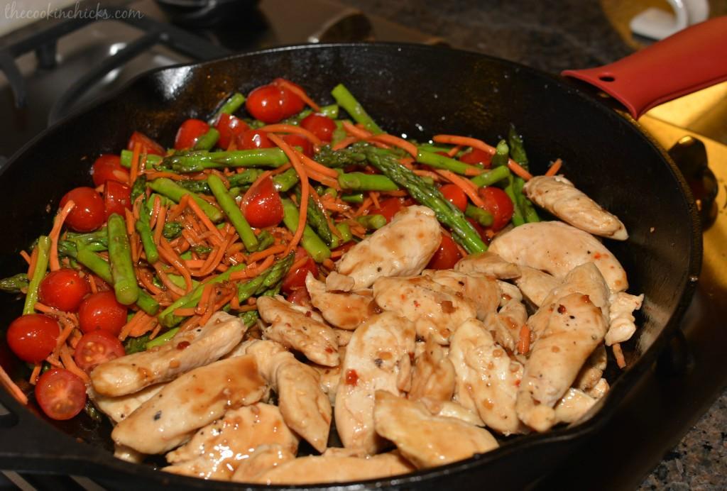 Balsamic Chicken & Veggies