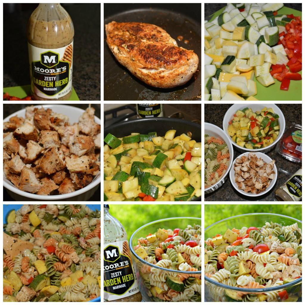 Zesty Garden Herb Pasta Salad