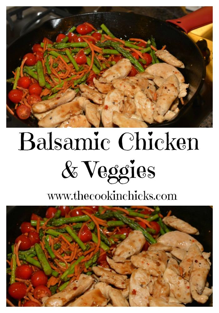 Balsamic Chicken & Vegetables