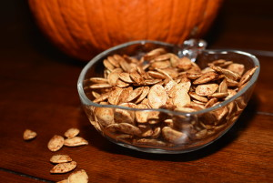 Cinnamon Sugar Pumpkin Seeds