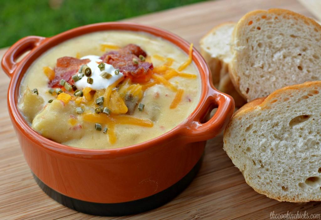 The ULTIMATE Potato Soup