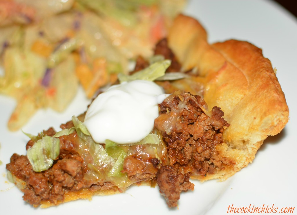 Crescent Taco Pie