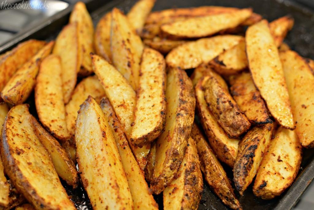 Seasoned Potato Wedges