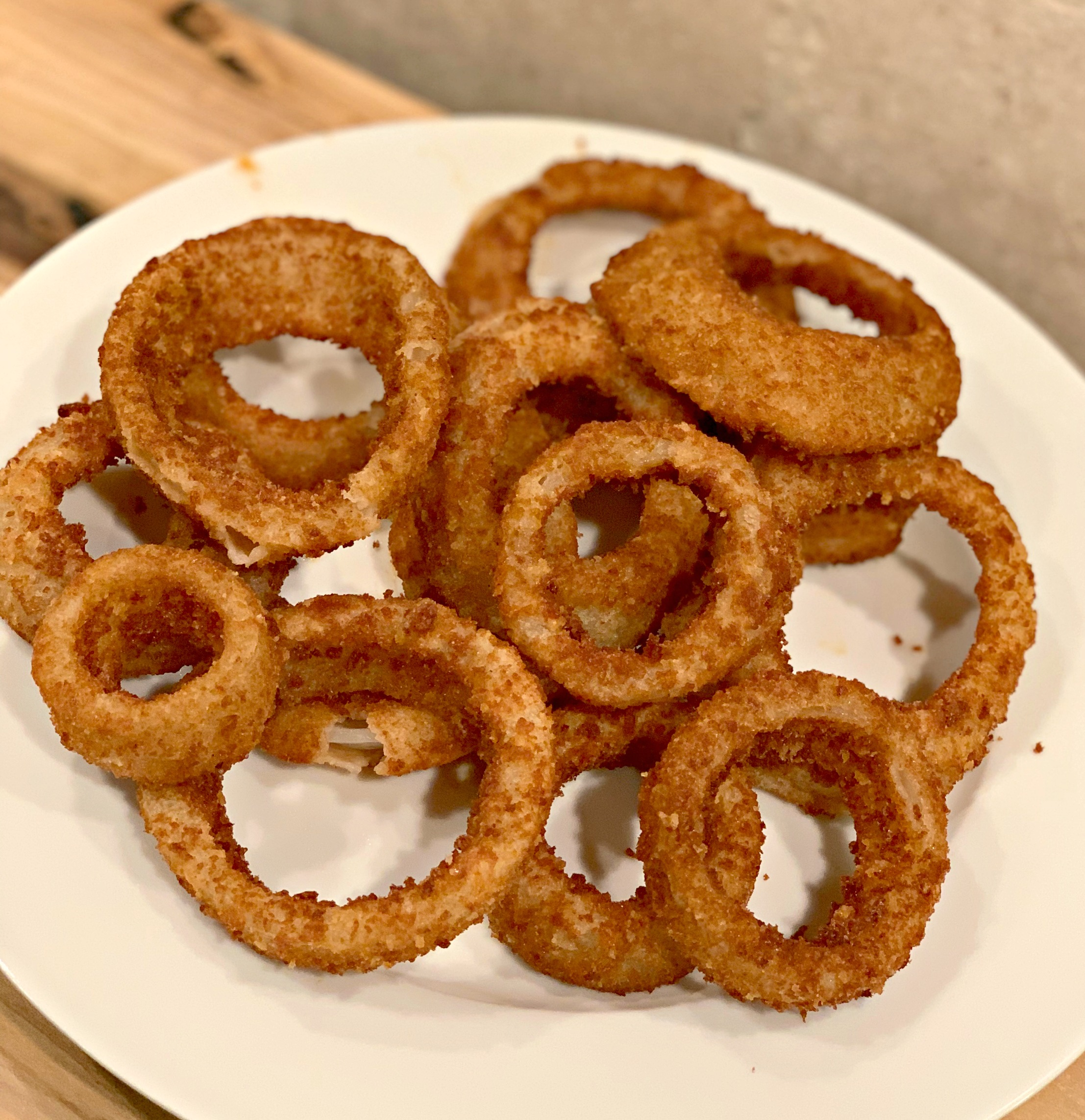 Crispy Air Fried Onion Rings The Cookin Chicks