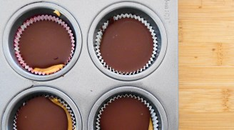 Add Last Layer of Chocolate; Freeze is Optional- Step 7
