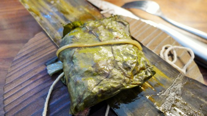 Lau Lau in Swiss Chard