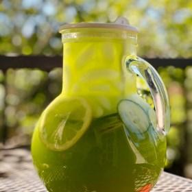 Agua Fresca de Pepino (Cucumber Lime'Onade)