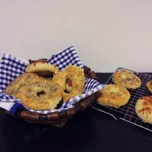 receta bagels caseros