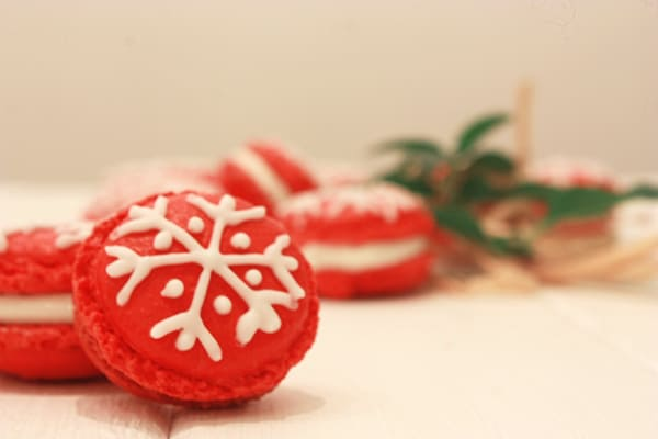 Macarons de navidad