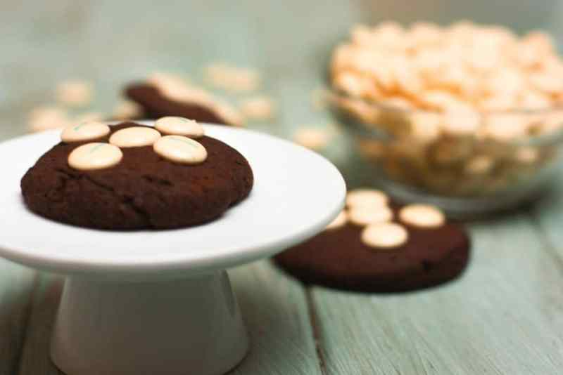 Cookies de chocolate y lacasitos
