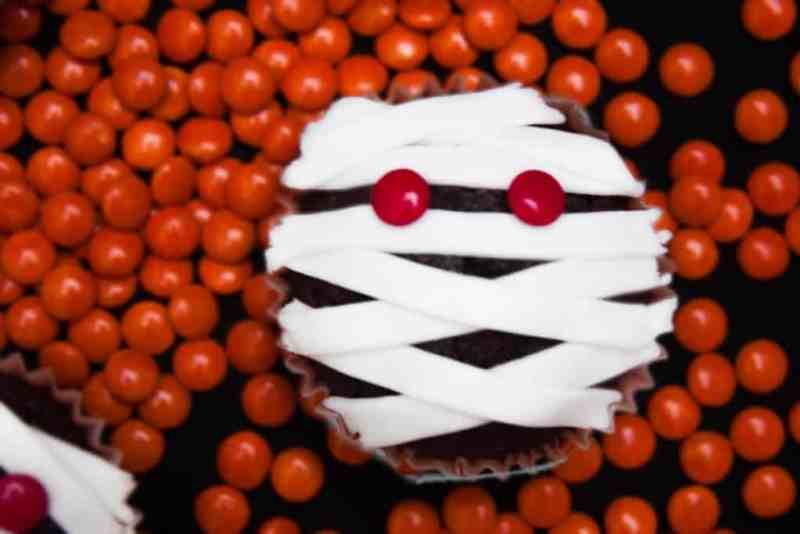 Cupcakes de momias