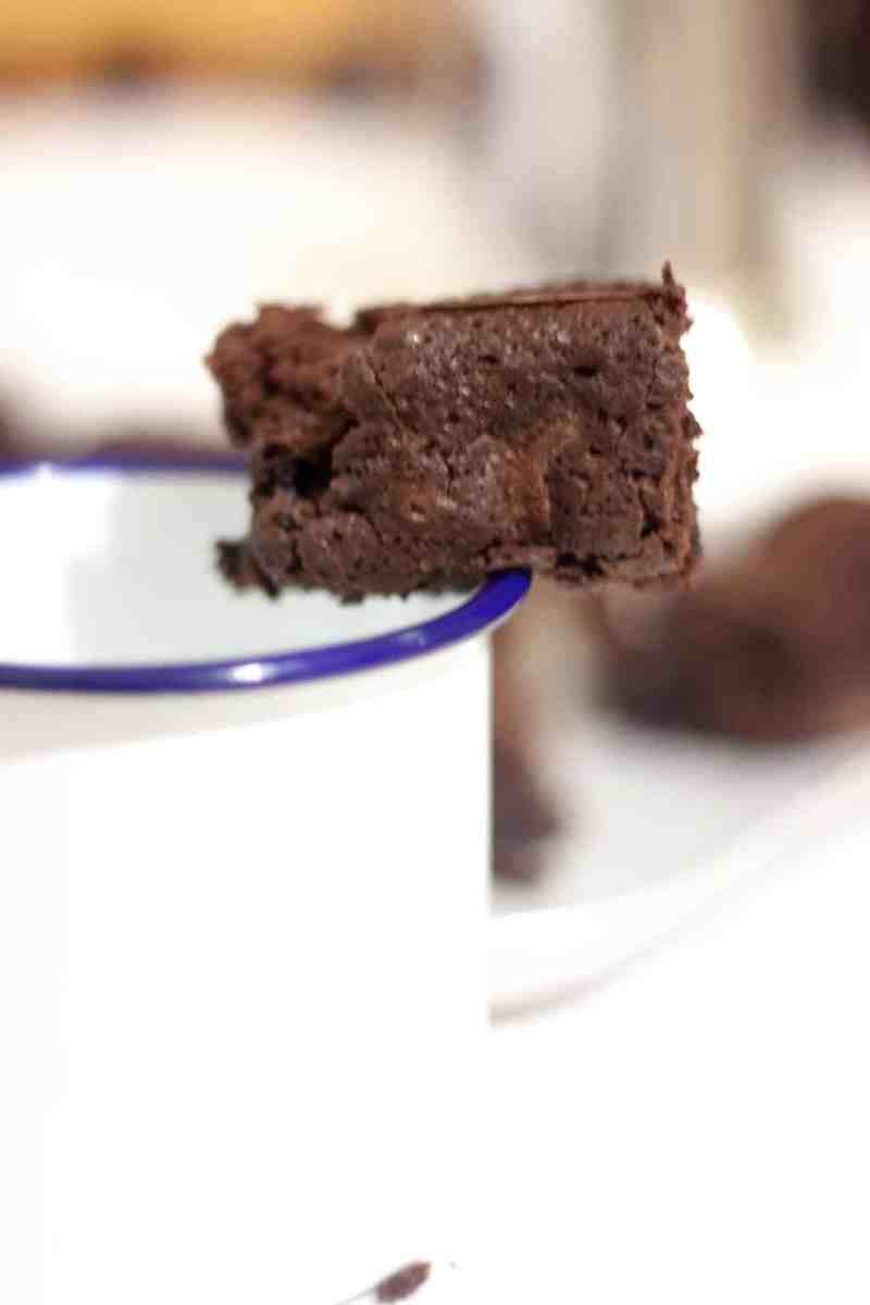 Brownie doble chocolate receta