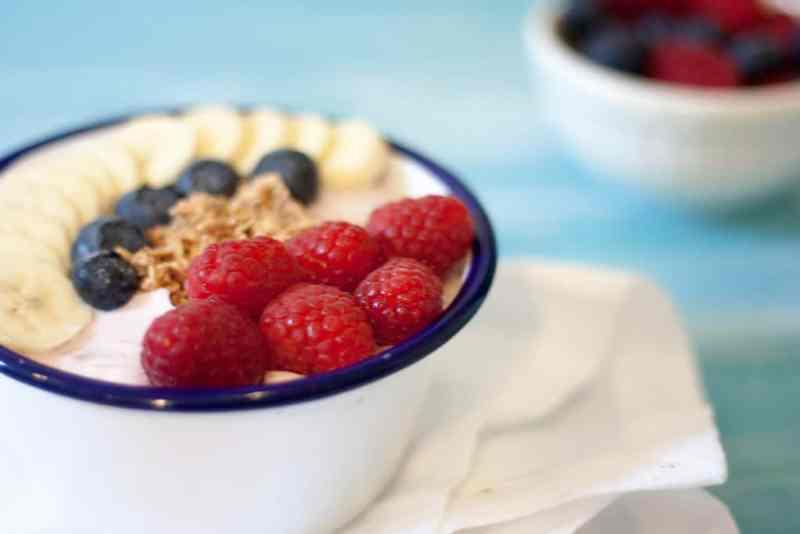 Receta express de desayuno
