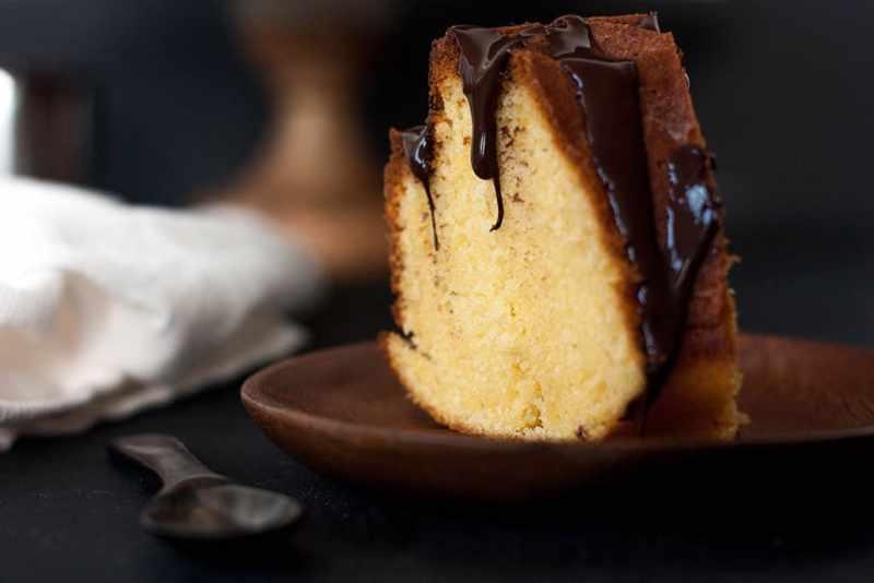 Orange and chocolate bundt cake