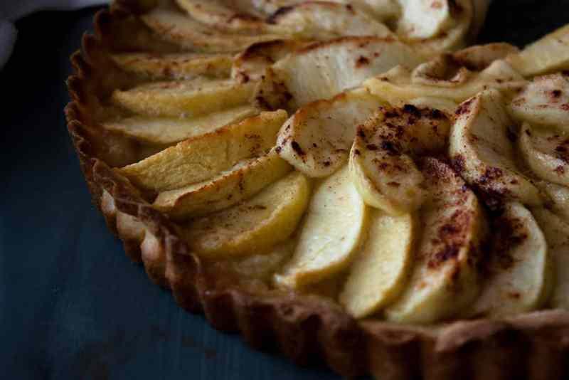 Tarta de manzana facil