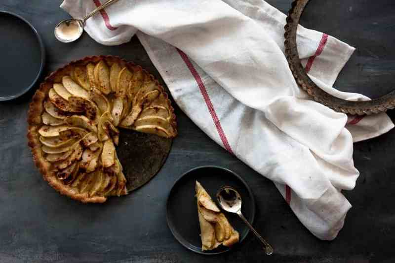 Tarta de manzana rapida