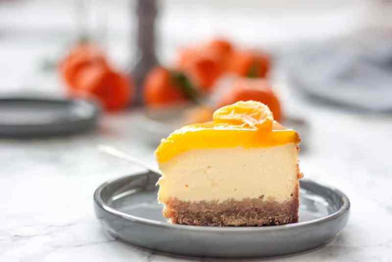 como hacer cheesecake mandarina