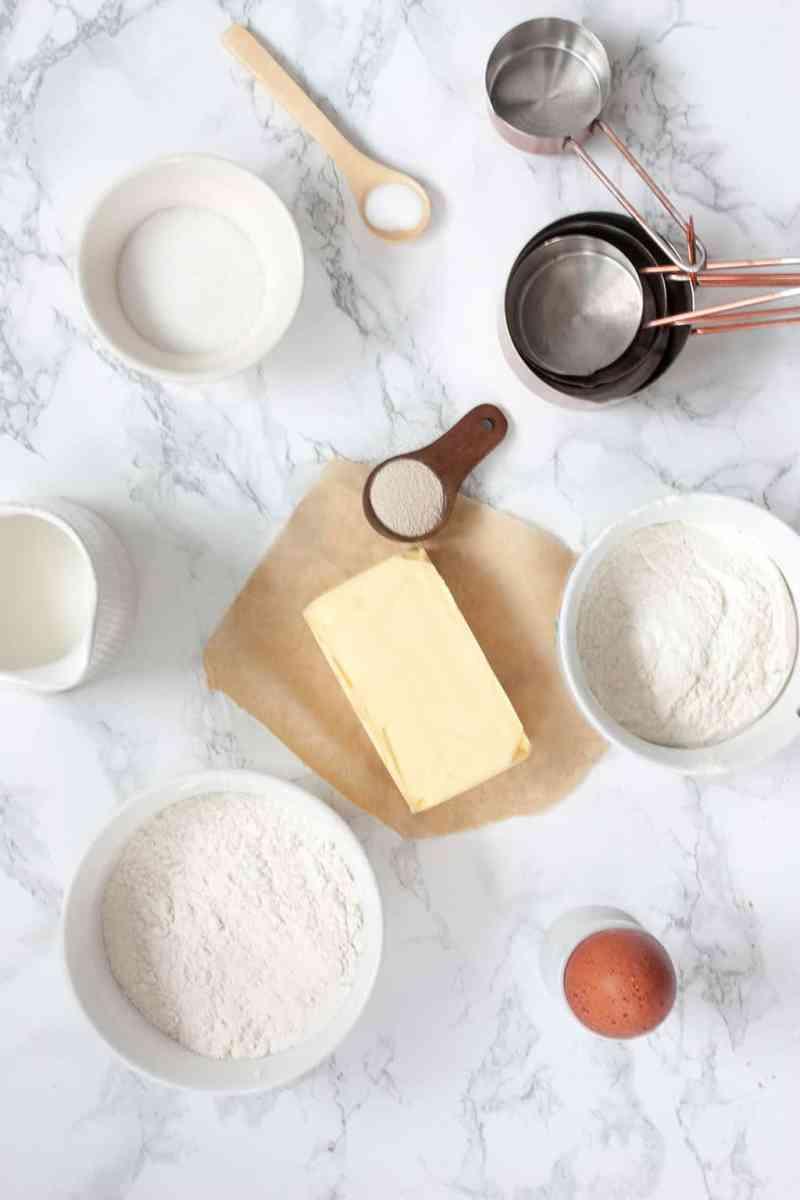 Ingredientes croissants