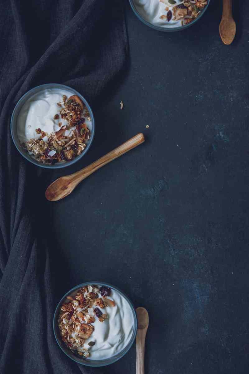 granola de avena receta