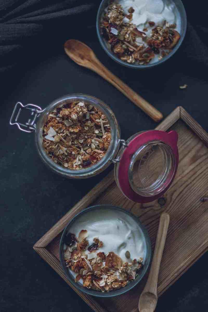 receta de granola