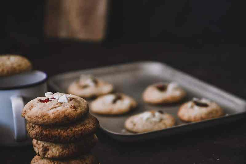 receta cookie de arandanos