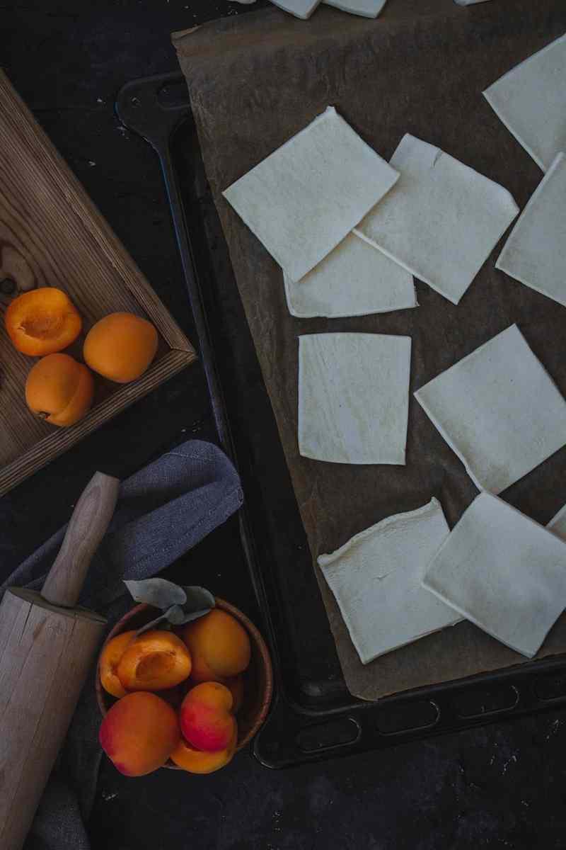 como hacer tartaletas de albaricoque