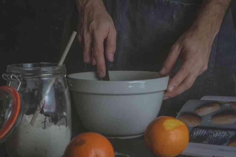 how to make orange madeleine