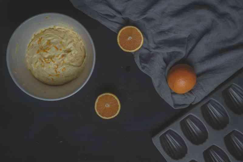 molde para madeleines receta